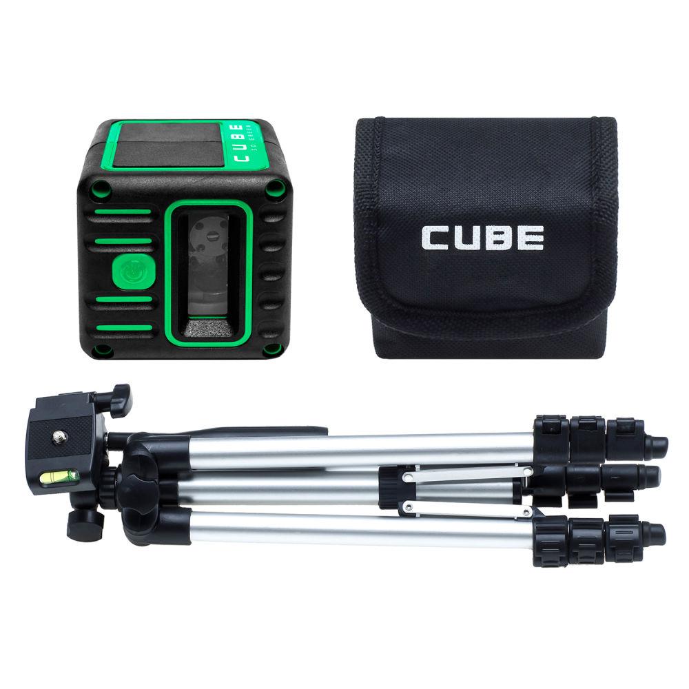 Лазерный уровень ADA Cube 3D Green Professional Edition А00545