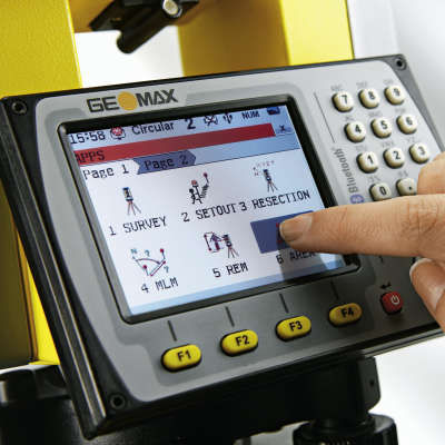 """Тахеометр GeoMax Zoom35 Pro (5"""") A10 6008003"""