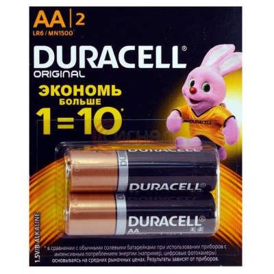 Батарейка Duracell Original LR6 5000394115453