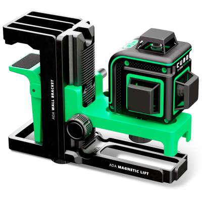 Лазерный уровень ADA Cube 3-360 Green Home Edition (А00566)